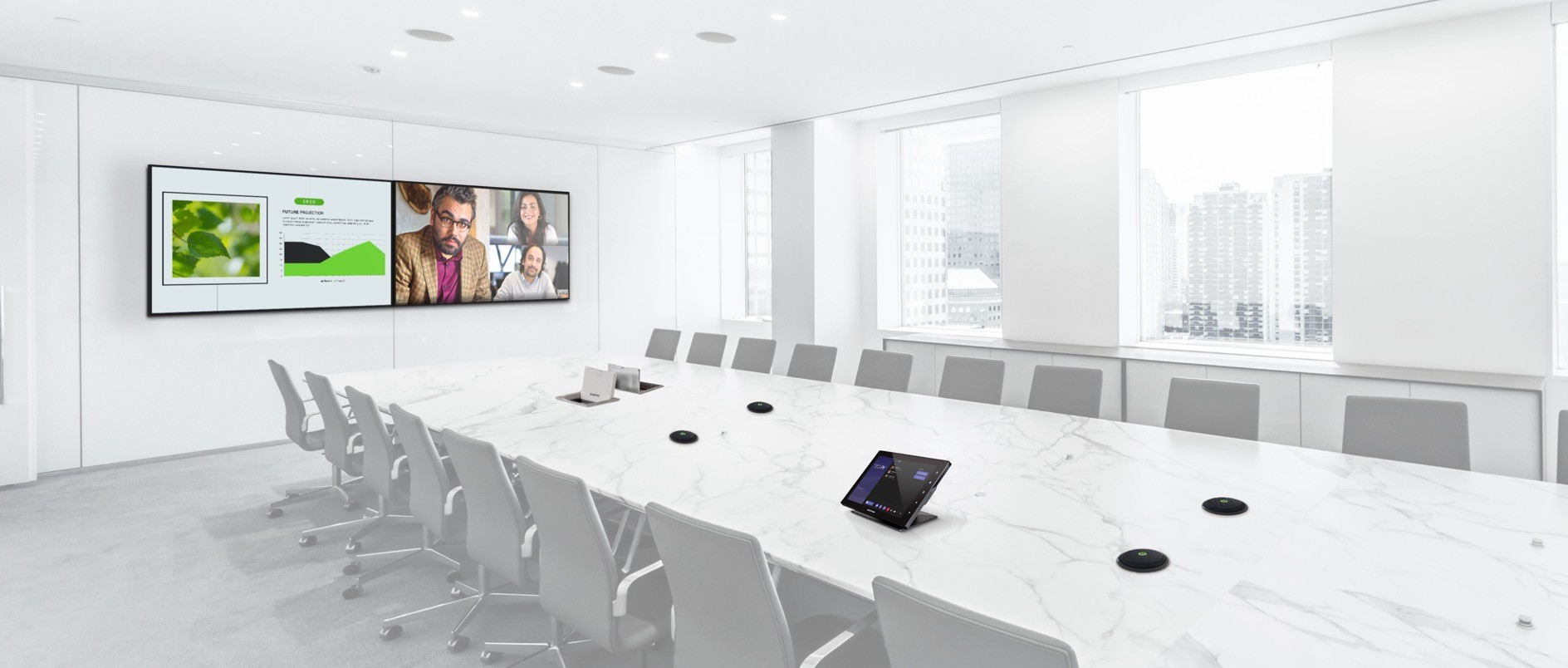 Commercial AV solutions